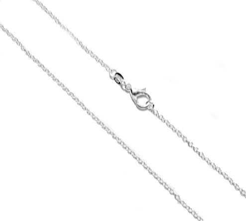 60cm Silver Plated Chain