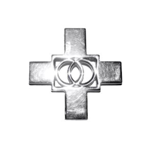 Equilateral Cross Pendant