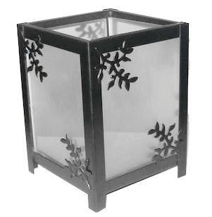 Glass Tealight Lantern