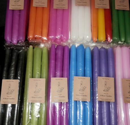 Baby Pink Taper Candles - Pack of 6