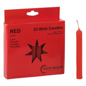 Red Wish Candle