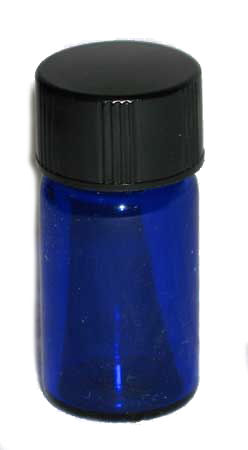 Blue 5/8 Dram Bottle