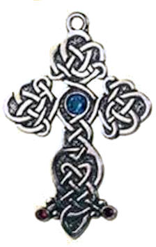 Queen Guinevere's Cross Pendant