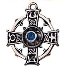 Raith Gras Cross Pendant