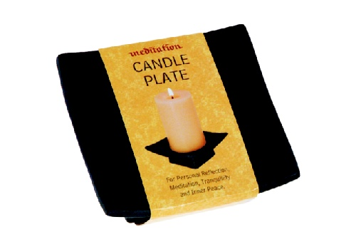 Black Candle Plate