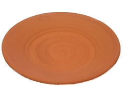 Terracotta Candle Plate